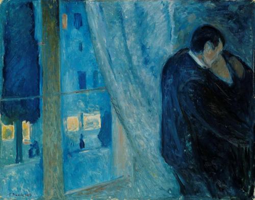 Edvard Munch, Kus bij het raam, 1892