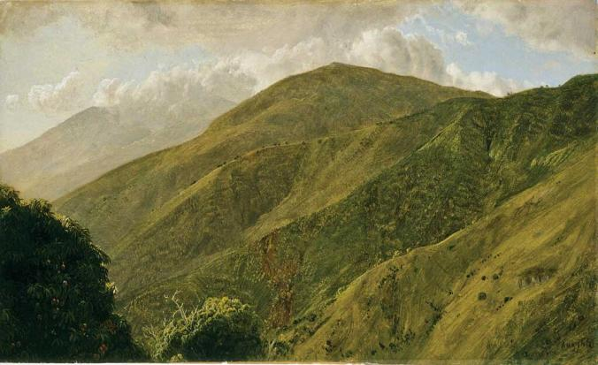 Frederic Edwin Church, Scene in the Blue Mountains, Jamaica, 1865