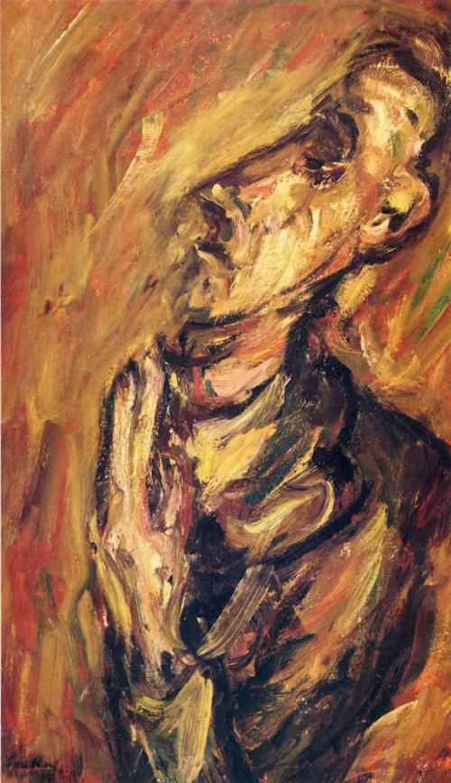 Praying Man - Chaim Soutine Paintings
