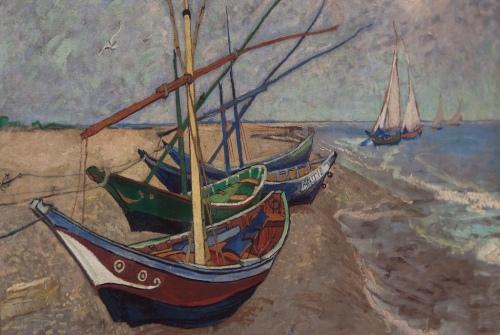 vissersboten_op_het_strand_van_les_saintes-maries-de-la-mer_Vincent_van_Gogh_1888