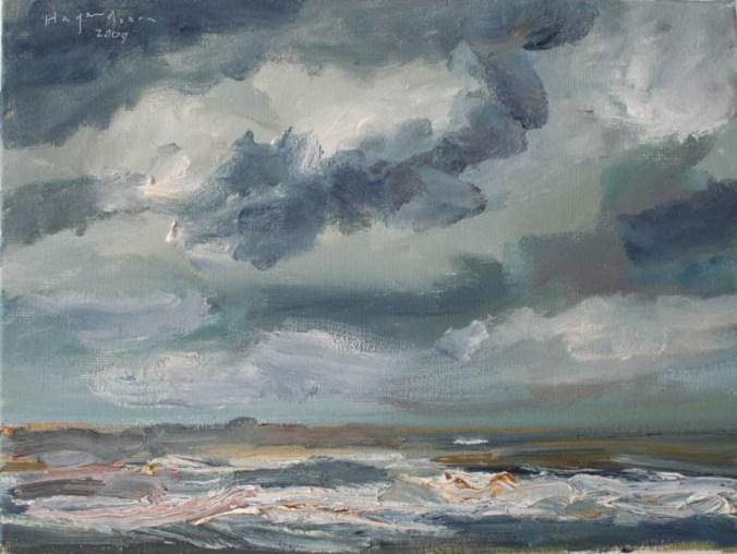 zee-met-donkere-wolken_KunstvereenigingKatwijk