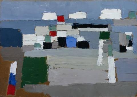 Etude de paysage, 1952 Nicolas de Staël