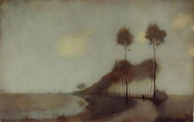 Jan Mankes, Woudsterweg bij Oranjewoud, 1912