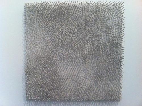 Gunther Uecker, Weisses Feld, 1964, Tate Modern Londen