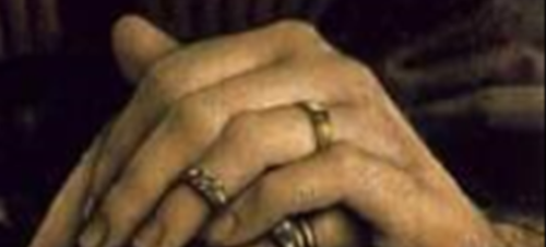 Rogier van der Weyden, handendetail