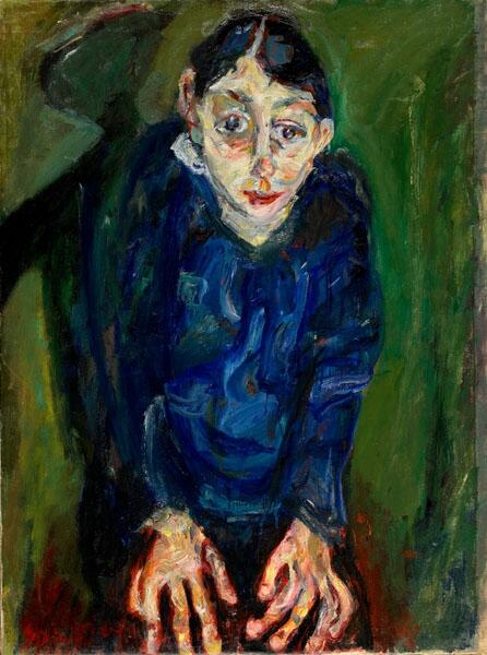 Chaim Soutine, La Folle, 1919