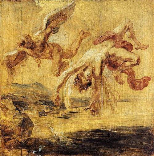 Peter Paul Rubens, De val van Icarus, 1636