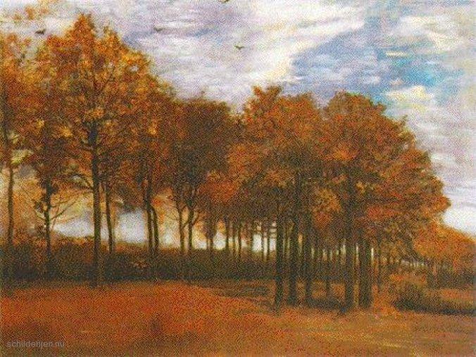 Vincent-van-Gogh-Herfst-Landschap