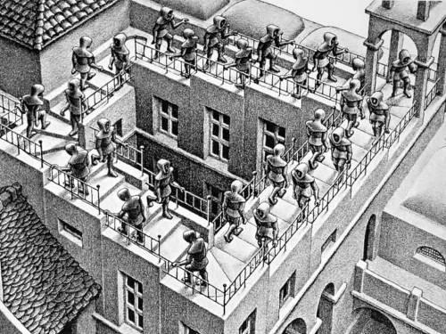 Escher-eindelooslopen