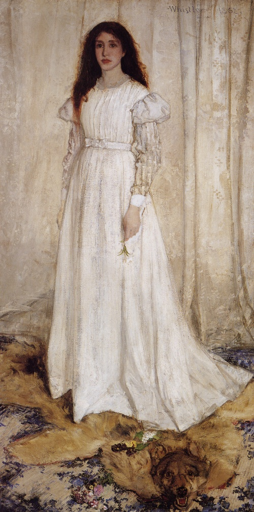 Whistler_James_Symphony_in_White_no_1_(The_White_Girl)_1862_g