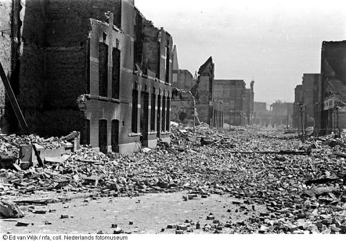 Bombardement Rotterdam_EdVanWijk