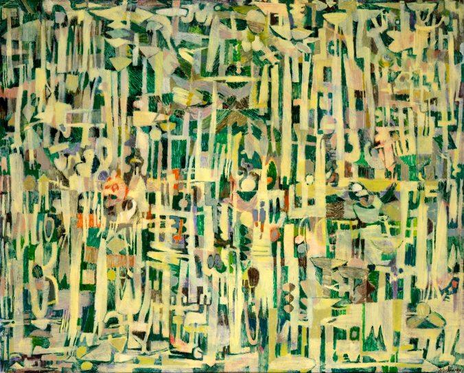 Pierre Alechinsky - Les hautes herbes