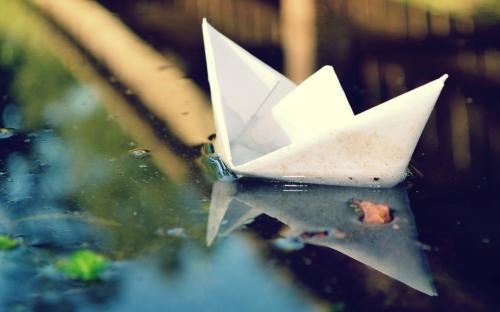 PapierenBoot_Origami