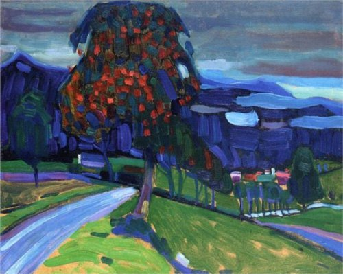 Autumn in Murnau - Wassily Kandinsky
