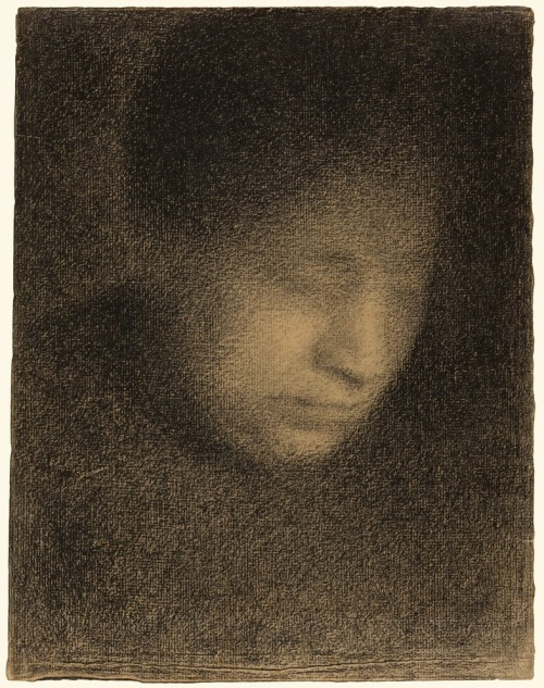 Seurat_mother_@GettyMuseum