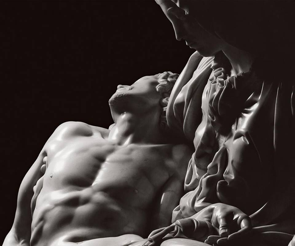 'La Pietà', Michelangelo Buonarroti, Rome, photo by Aurelio Amendola