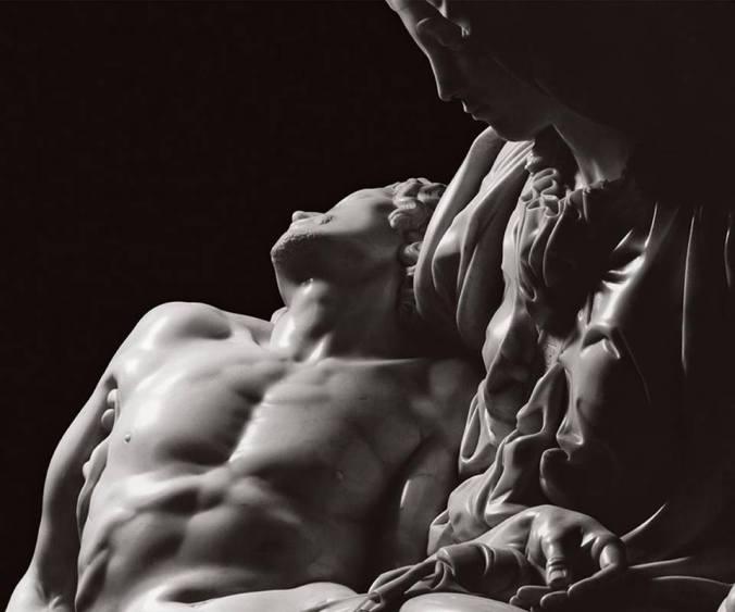 'La Pietà', Michelangelo Buonarroti, Rome, photo by Aurelio Amendola
