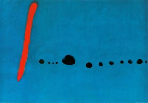 miro azul II 1961